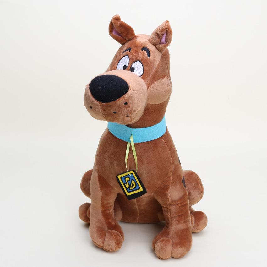 13'' Soft Plush Cute Scooby Doo Dog Dolls Stuffed Toy New Christmas Gifts(China (Mainland))