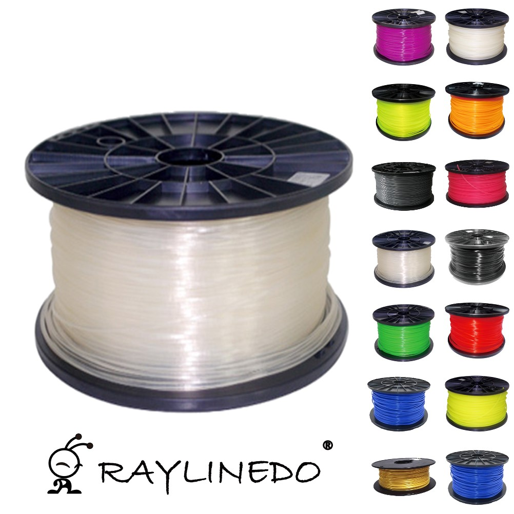 Фотография Transparent Color 1Kilo/2.2Lb Quality ABS 1.75mm 3D Printer Filament 3D Printing Pen Materials
