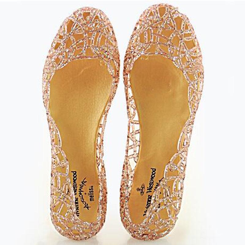 Women Melissa Sandals 2016 Summer New SED Bling Pumps Fashion Hole Shoes Shiny Jelly(China (Mainland))