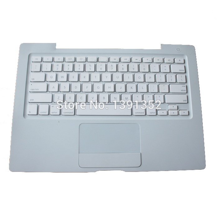 A1181 Top Case With Keyboard For Macbook A1181 13 Top Case US Version Replacement White Color Free Shipping<br><br>Aliexpress