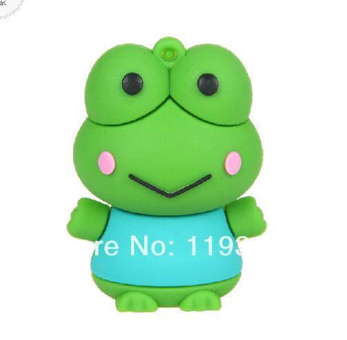 U37 The Frog Prince usb flash drive gifts Frog animal pen drive 4gb 8gb 16gb 32gb pen drives flash usb pendrive memory stick(China (Mainland))