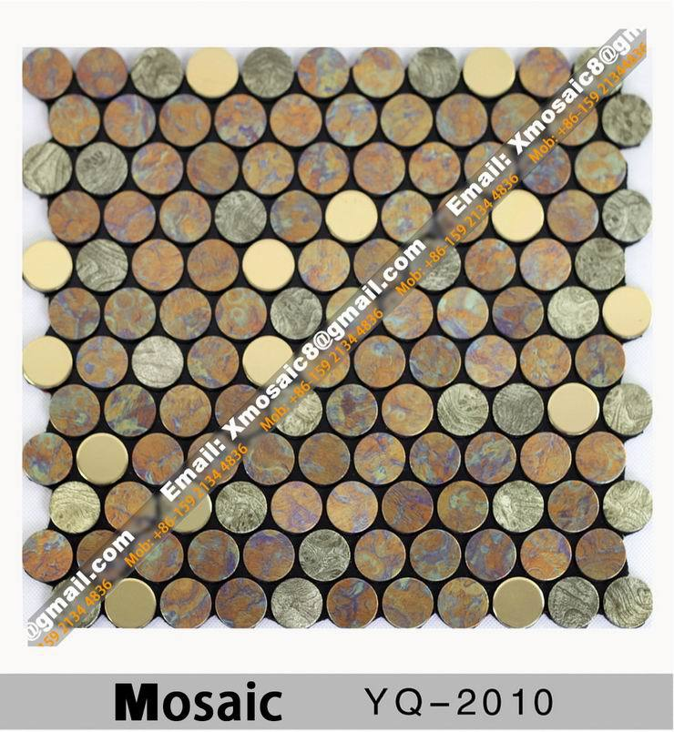 Aluminum Wall Mosaic #YQ-2010;interior Ceiling and wall decoration materials; Size is 295MMX295MM Per Piece<br><br>Aliexpress