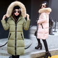 Hot Sale New Female Thick Fashion Winter Coat Women Warm Down Jacket Knee Simple Fashion Wild
