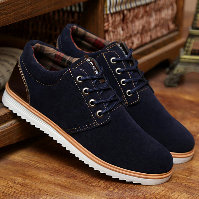 Shoes Homme 2015 Homme Leather Casual Shoes