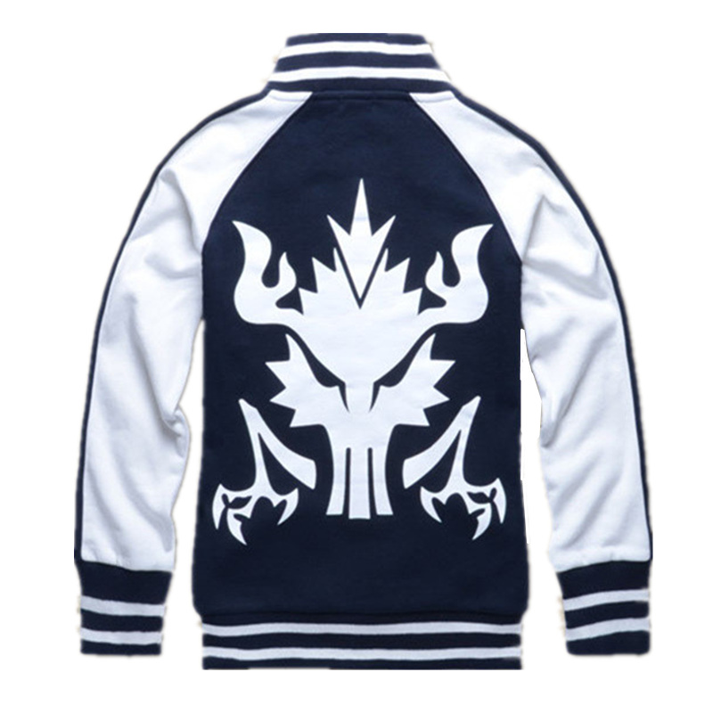 Anime Cosplay Costumes KILL la KILL Matoi Ryuuko unisex Baseball coat perfect Cosplay anime hoodie Desigual Coat  Jacket