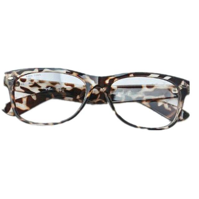 Non mainstream glasses vintage big box eyeglasses frame ...