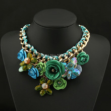 New design spring 2014 gold chain necklace pendant statement necklace major luxury jewelry wholesale