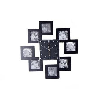 tj002 Free shopping1pcs free production of photo for you photo frame wall luxury home decor fashion pendulum clocks wall clock