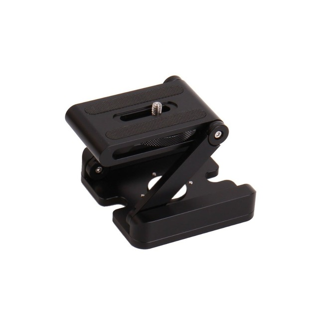 TOAZOE High Quality CNC Camera Folding Quick Release Plate Stand Holder Tripod Z Flex Tilt Ball Head