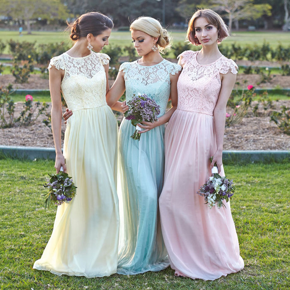 Conservative Bridesmaid Dresses with Sleeves | Dress images