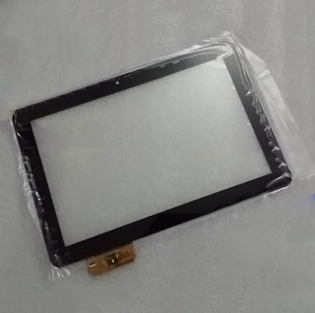 """Free Shipping ACE-GG10.1A-382-FPC 10.1"""" Ir nch Touch Screen Digitize Black With Rounded Corner(China (Mainland))"""