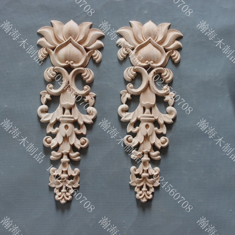 Fashion furniture wood carved decoration cupboard doors flower background wall fireplace motif wood carving(China (Mainland))