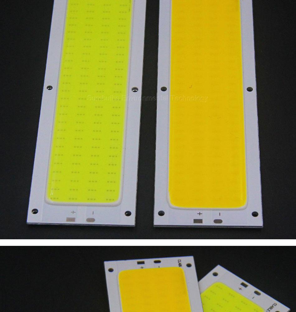 10w cob led strip light led chip lamp bulb LEDs dc 12V (5)