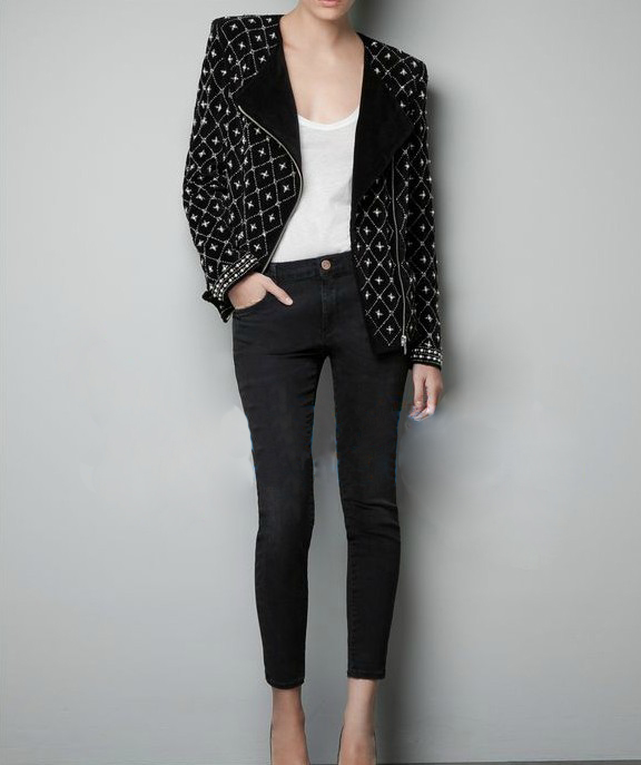 popular black velvet jacket buy cheap black velvet