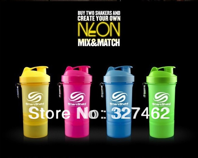Neon Water Bottles Hot Shake Bottle Neon 20oz