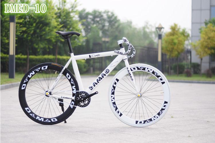 Fixed gear 26inch tyre dirt bike 1 speed V brakes 26er steel bicicleta mountain bike woman&man 20(China (Mainland))