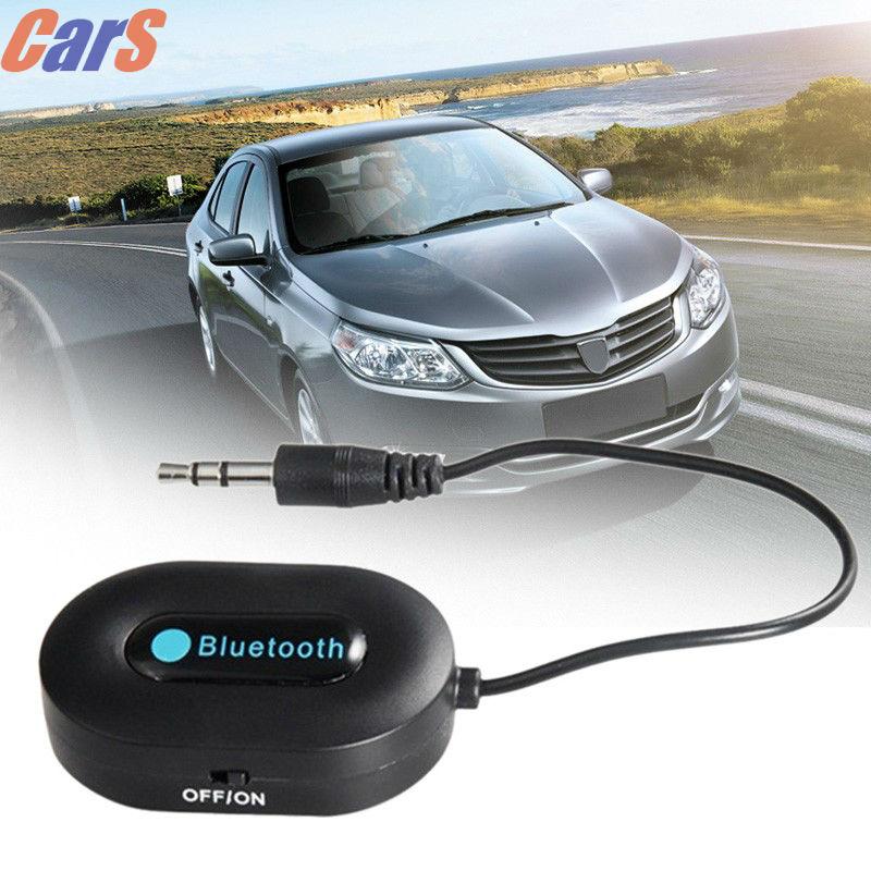 Wireless Bluetooth Receiver Car Kit Bluetooth 3.0 Music Receiver HSP/HFP/A2DP 3.5mm Bluetooth Adapter Hands Free Car AUX Speaker(China (Mainland))