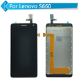 Replacement Lcd Screen For Lenovo S660 LCD Display With Touch Screen Digitizer Assembly black Tools