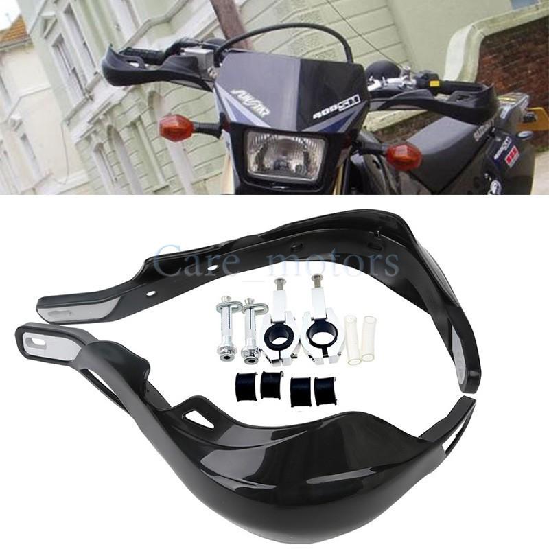 "Handlebar handguards Hand Guards Fit 7/8"" 22mm or 1 1/8 28 mm Bar Motorcycle Motorcross Dirt Bike ATV Quad Black(China (Mainland))"