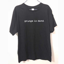 Buy New Summer Grunge Dead kurt cobain nirvana 90s rock Funny T Shirt Men Funny Cotton Short Sleeve T-shirt Tshirt camiseta for $9.24 in AliExpress store