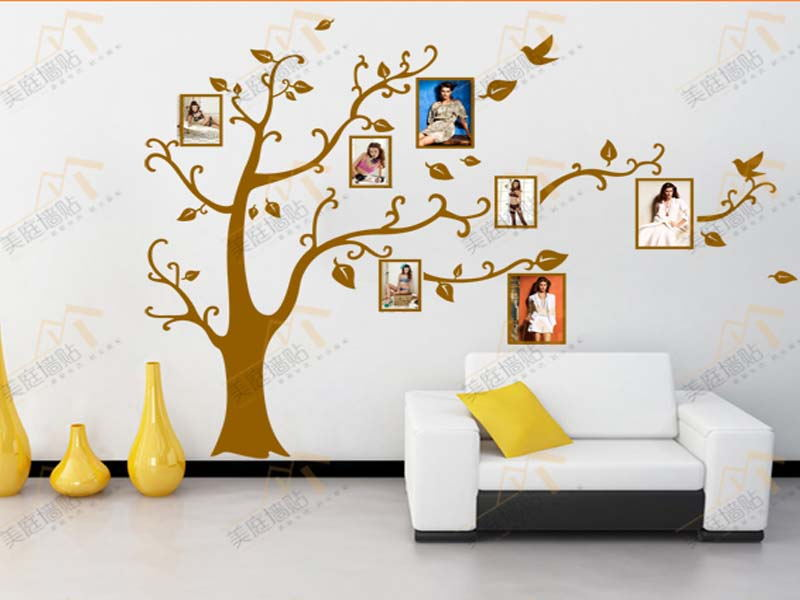 2015 Direct Selling Family Tree Wall Sticker Frames Home Decoration Art Decor Photo Frame