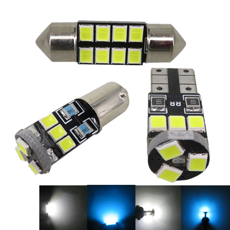 7pcs Map Dome Trunk Door Light 2835 SMD Led T10 W5W Car Led Interior Light Package for Nissan Altima 2002 2003 2004 2006 2005(China (Mainland))