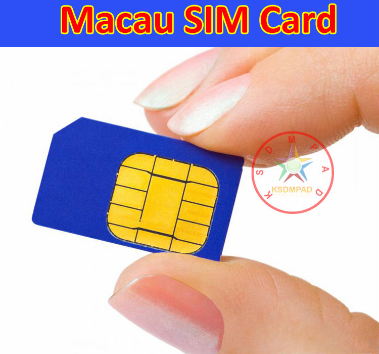 HK and Macau SIM card for traveling or business trip with 7 days validity contains 120 RMB suitable for Hongkong Taiwan Macau