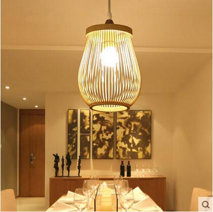 Фотография Nordic American Country LED Pendant Light Consice Wood Romantic Hanglamp Droplight Fixtures For Cafe Bar Living Home Lighting