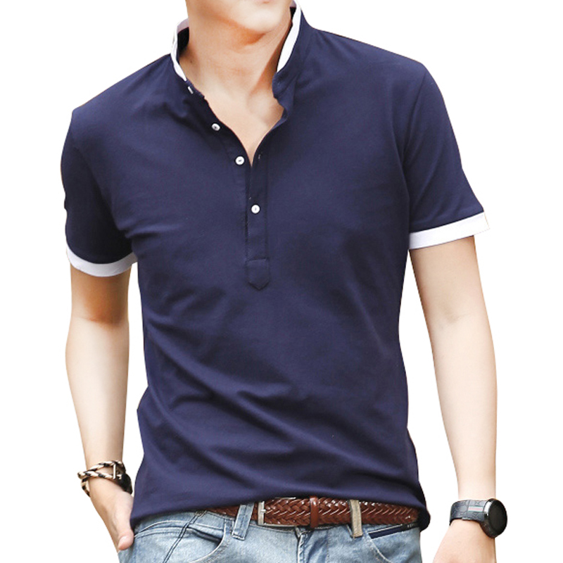 New Brand 100% High Quality Men's Polo Shirt For Men Polos Men Cotton Short Sleeve Shirt Sports Jerseys Golf Tennis Plus(China (Mainland))