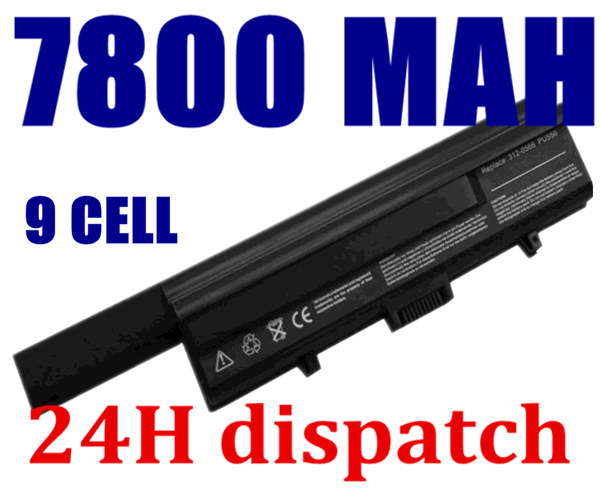 9CELL 7800MAH Battery for DELL XPS M1330 UM230 PU556 PU563 CR036 TT485 WR053 0WR053 0CR036 PU563,312-0566,312-0739(China (Mainland))