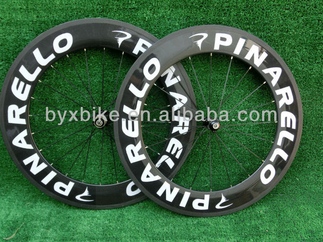 wholesale-pinarello wheels carbon clincher/tubular 88mm&carbon wheelset tubular/clincher&3k glossy/matte finishing