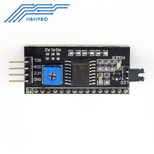Buy 5PCS IIC/I2C/TWI/SPI Serial Interface adapter Board Module 1602 2004 LCD Display Arduino NEW Arrival for $2.49 in AliExpress store