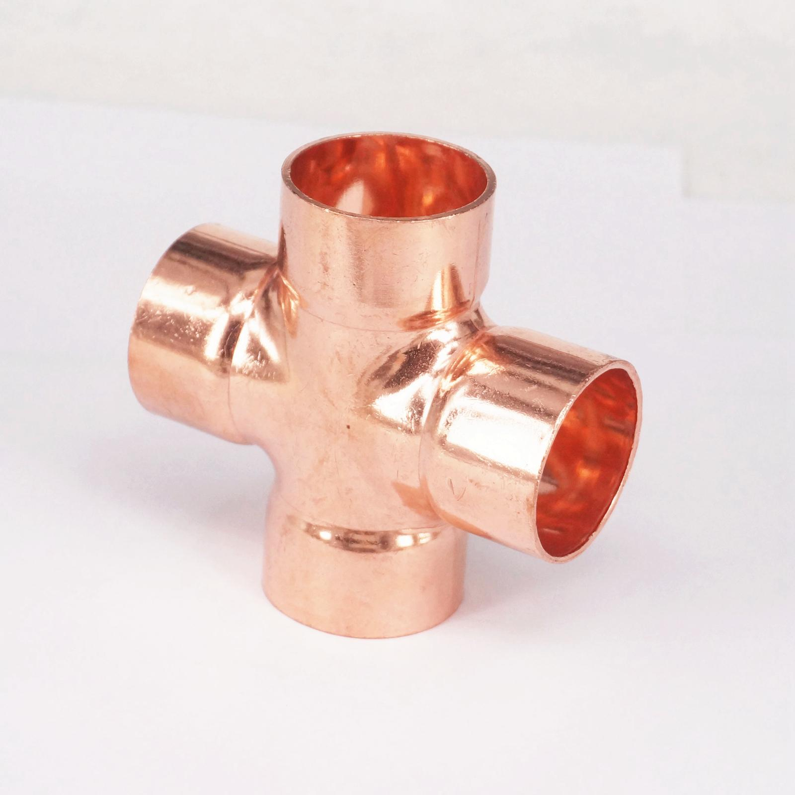 Online buy wholesale copper cross fitting from china