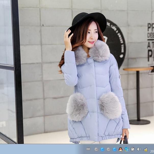 Фотография Free Shipping 2015 Winter Jacket in Women