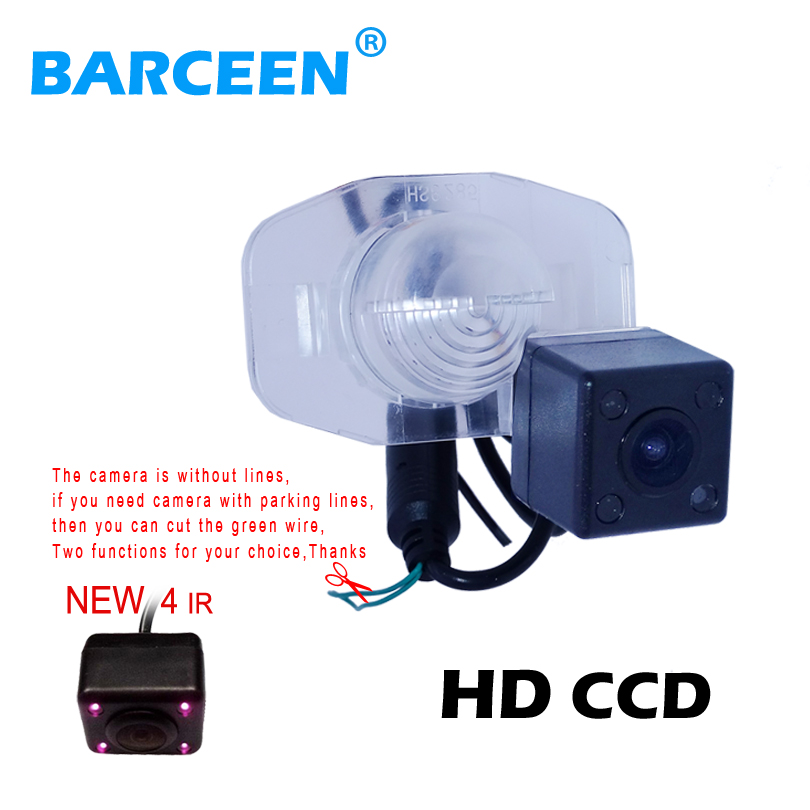 Original CCD HD Car back rear view Camera for Corolla for BYD G3 glass lens material waterproof 4 IR supply from stock(China (Mainland))
