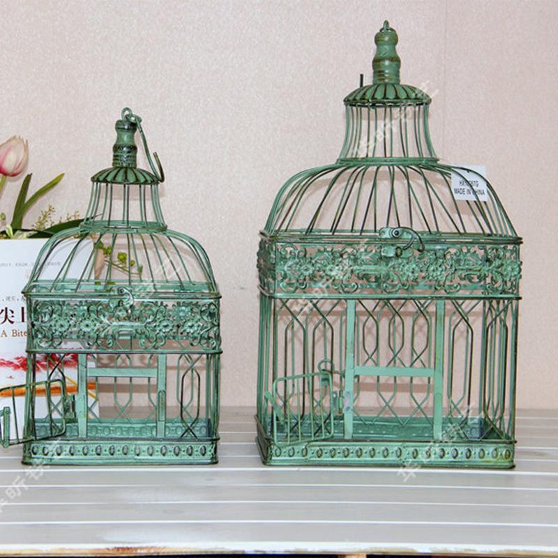 High quality decorative bird cages distressed large bird - Cage a oiseau decorative ...