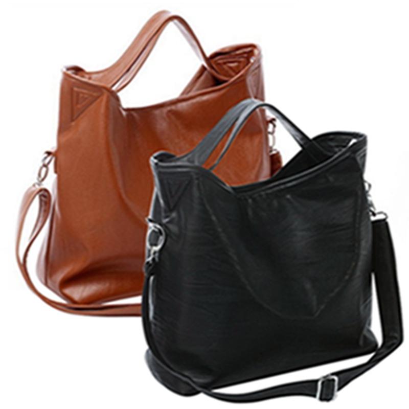Гаджет  Hot New Fashion New Women Hobo PU Leather Handbag Cross Body Shoulder Bag Large Capacity hv5n None Камера и Сумки