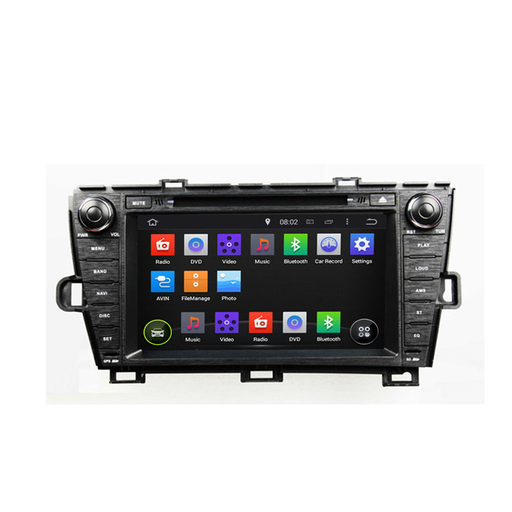 16G 1024*600 Quad Core Android 5.1.1 Fit TOYOTA PRIUS left or Right Driving 2009 -2014 2015 Car DVD Player Navigation GPS Radio(China (Mainland))