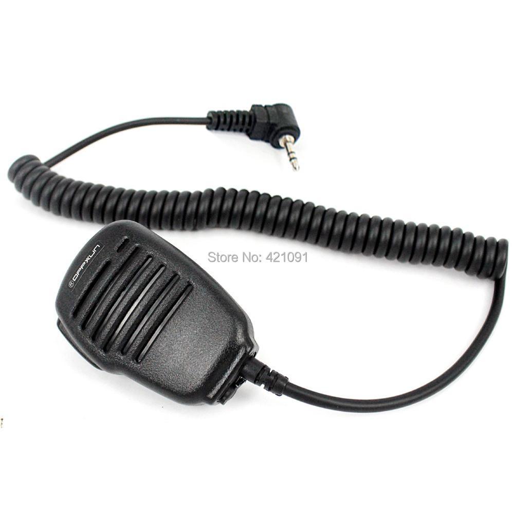 T-type 14mm 2.5mm Handheld Speaker Microphone Mic for Motorola Walkie Talkie 4_0066