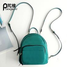 Buy PONGWEE 2017 Vintage Women Fashion Backpack Casual Ladies Student School Bag Female Shoulder Women Back Pack Leather Backpack for $32.00 in AliExpress store