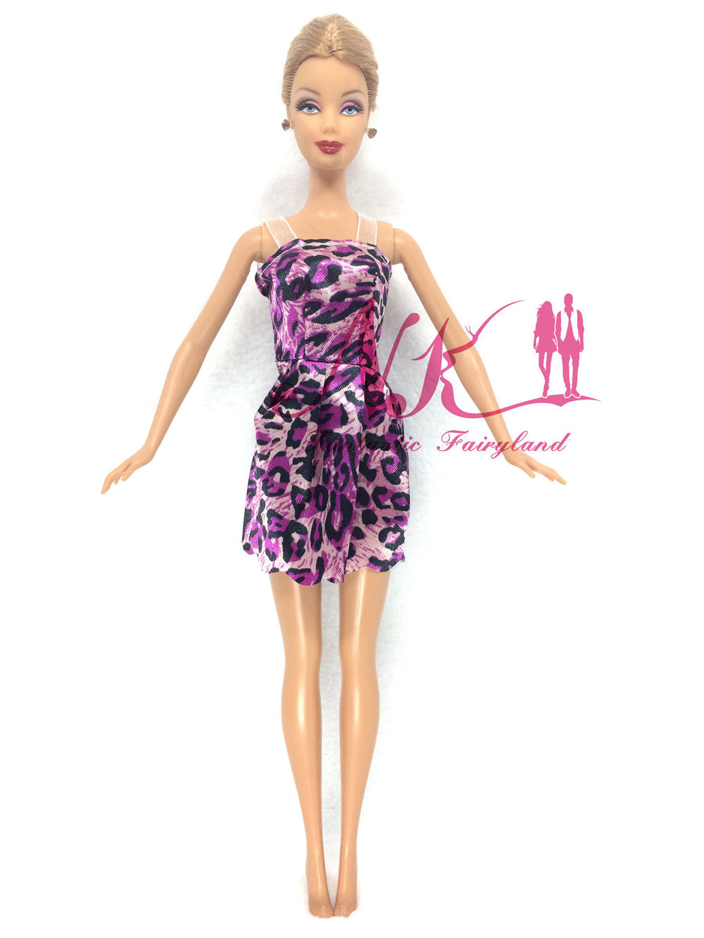 NK 2016 Latest Doll Gown Stunning Handmade Social gathering ClothesTop Trend Gown For Barbie Noble Doll Greatest Youngster Ladies'Reward 027C