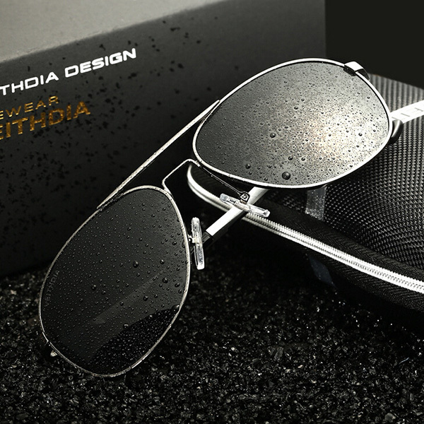 Classic Aluminum Magnesium Alloy Luxury Men Sunglasses Brand Original Aviator Polarized Driving Glasses Oculos Of Male Sun 3364(China (Mainland))