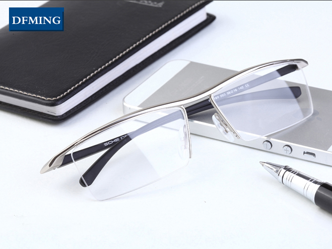 DFMING Titanium frame glasses men eyeglasses frame prescription glasses original oculos de grau eyeglasses frame glasses brand(China (Mainland))