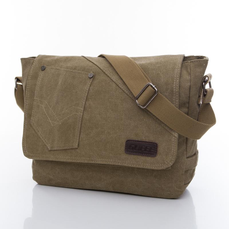 Newest Retro Fashion Cavas Messenger Bag, School Shoulder, Travelling Bag, Women And Man Bag 3 Colors, Wholesales,Free Ship 939(China (Mainland))