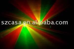 Wholesale&Free Shipping--Double RGY 220mW,laser light,dj light,disco light DMX SOUND AUTO