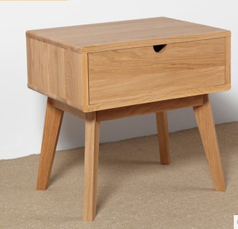 Japanese style furniture wood Nightstand,wood furniture,100% oak Nightstand,square wood table,Pastoral style,Bedroom Furniture(China (Mainland))