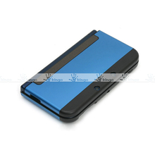 Aluminum Metal 2 Tone 2 Piece Protective Skin Cover Case For Nintendo New 3DS XL