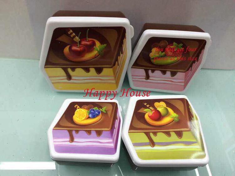 [해외]높은 품질의 아이 선물 4 색 중간 작은 케이크 모델 지능형 p..