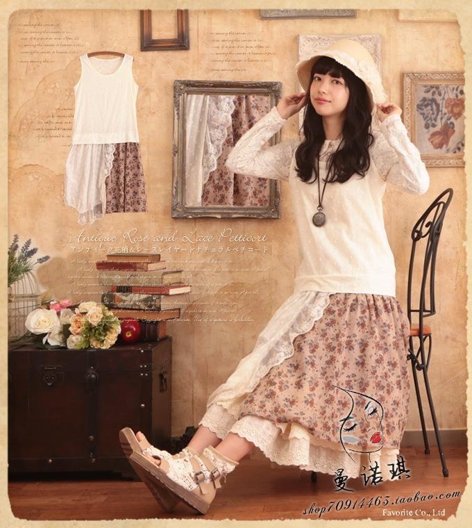 spring summer patchwork lace boho hippie dresses robe femme tunique femme crochet bohemian lolita mori girl ropa mujer vestidos(China (Mainland))