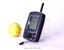 free shipping FF168W portable 30m wireless white backlight screen fish finder(China (Mainland))